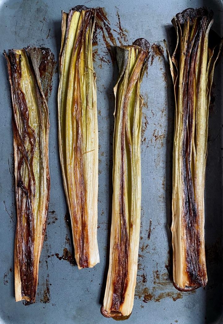 Slow-Roasted Leeks Recipe