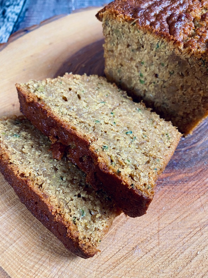 Courgette & Ginger Cake