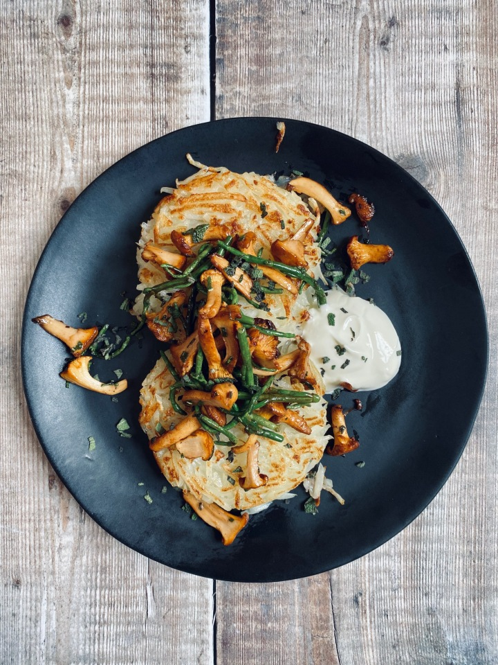 Homemade, Homegrown PotatoRösti
