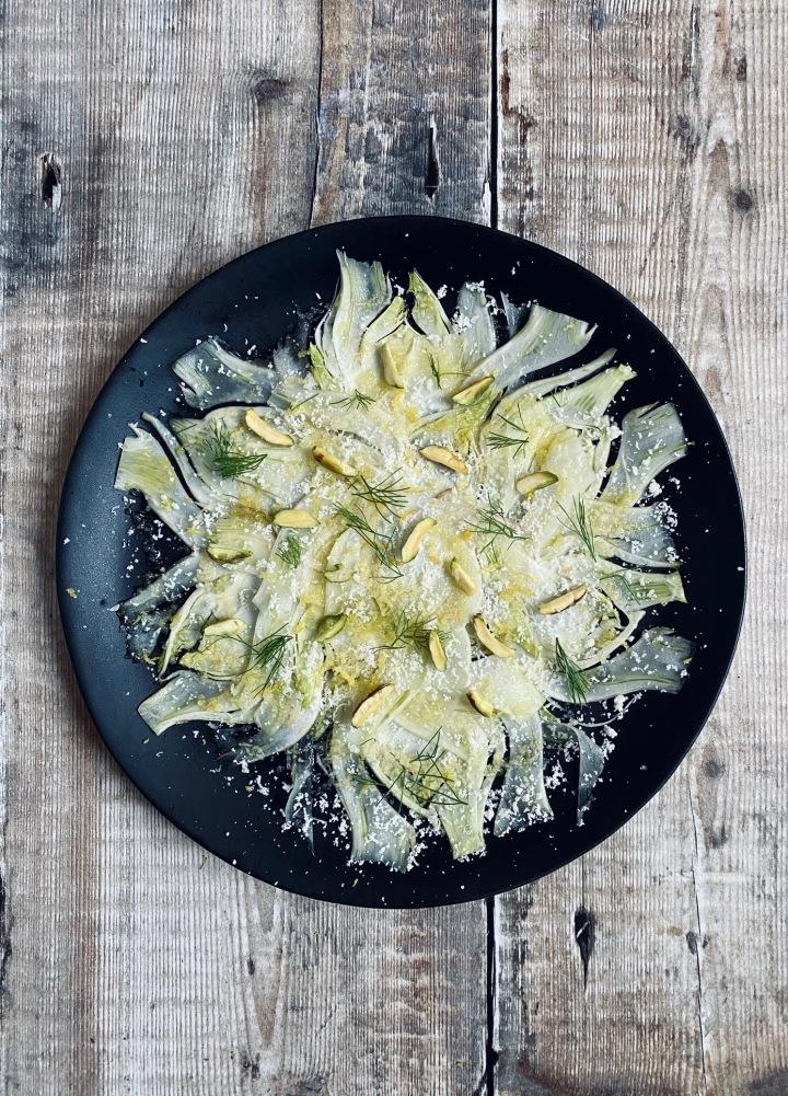 """Fennel """"Carpaccio"""" Salad"""